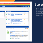 Get alerts for issues with SLA's that are about to be or have been breached.